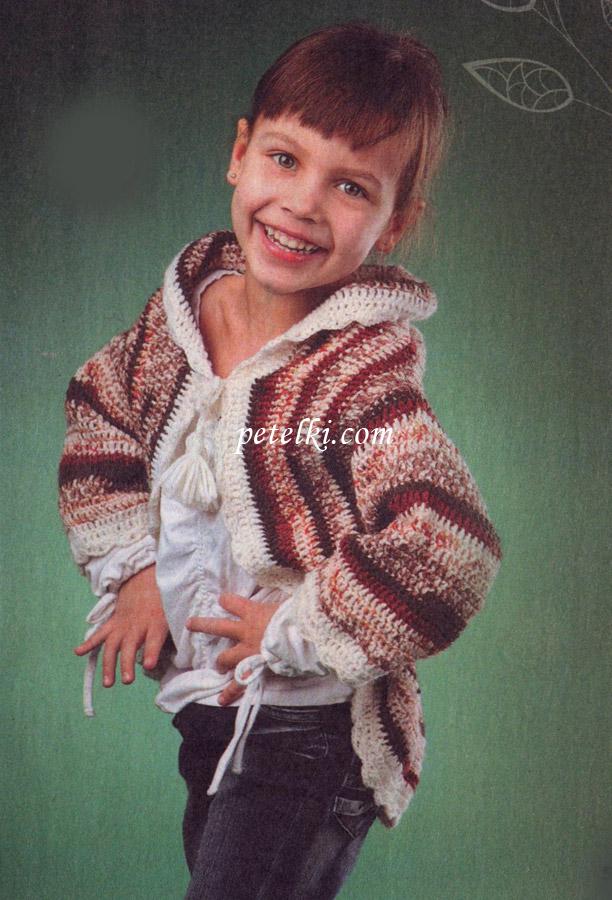 Возраст: На 5 лет.  Вам потребуется: пряжа Sekerim Junior (90% акрил, 10...