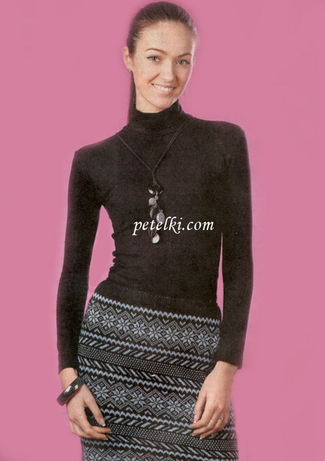 Схема вязания юбки на спицах фото 427
