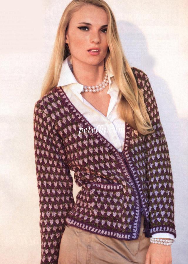 Вязание кофт в стиле
