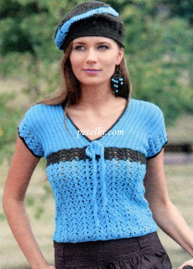 Вязаные майки - Кройка и шитье, вязание