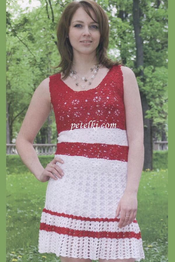 Фото вязаные платья крючком описание Выпускные зелёные платья. в
