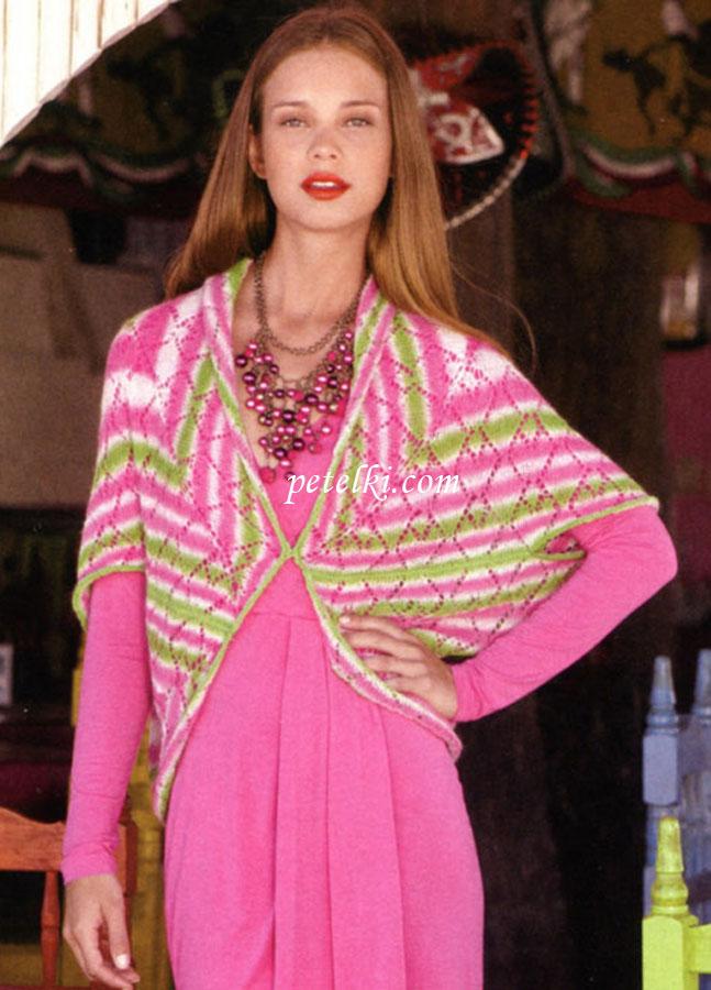 вязание спицами для женщин большие.