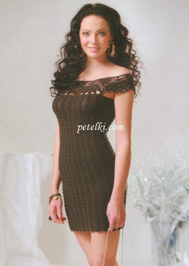 Вязание спицами схемы и модели бесплатно туника платье