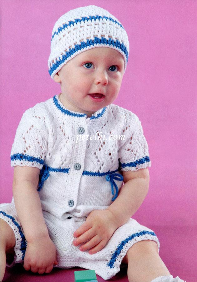 Вязание малышу на год 74