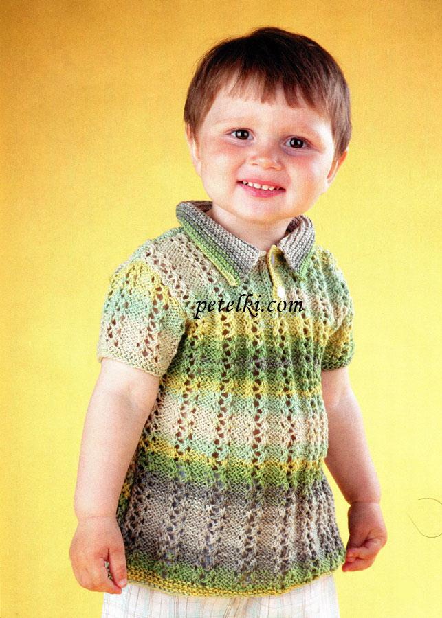 вязание для мальчика 5 лет узор кофты вязание спицами