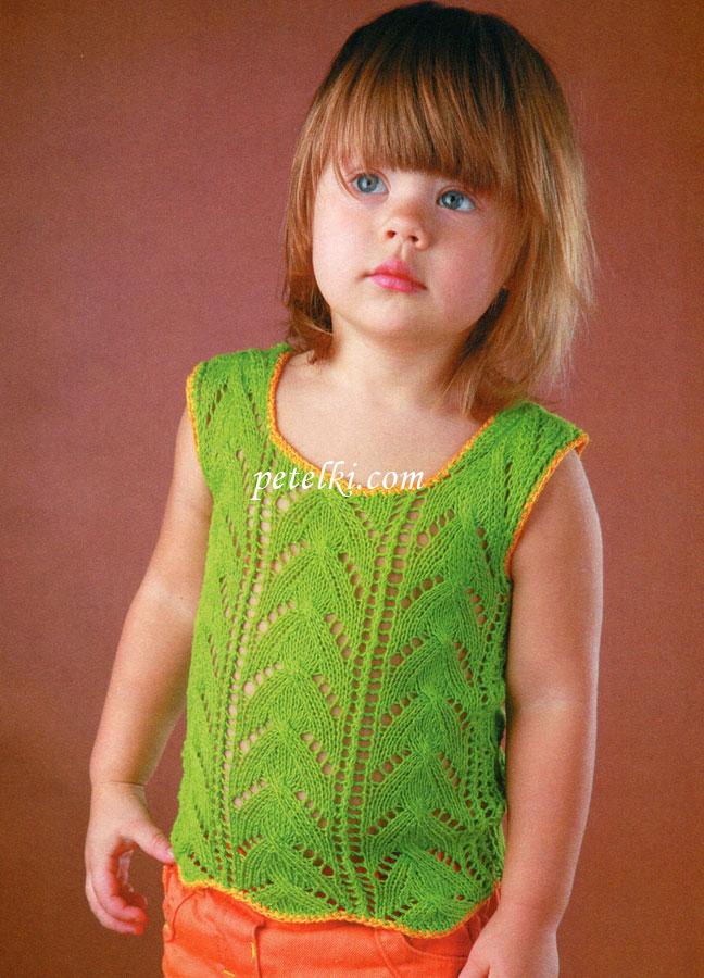 Вязание топиков для детей