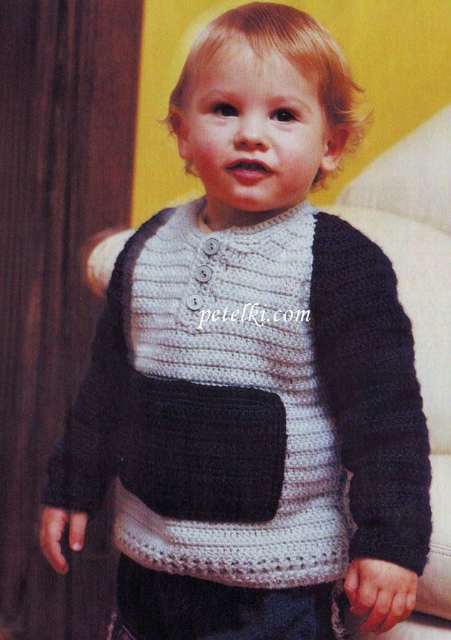 Вязание для мальчика 3 года крючком