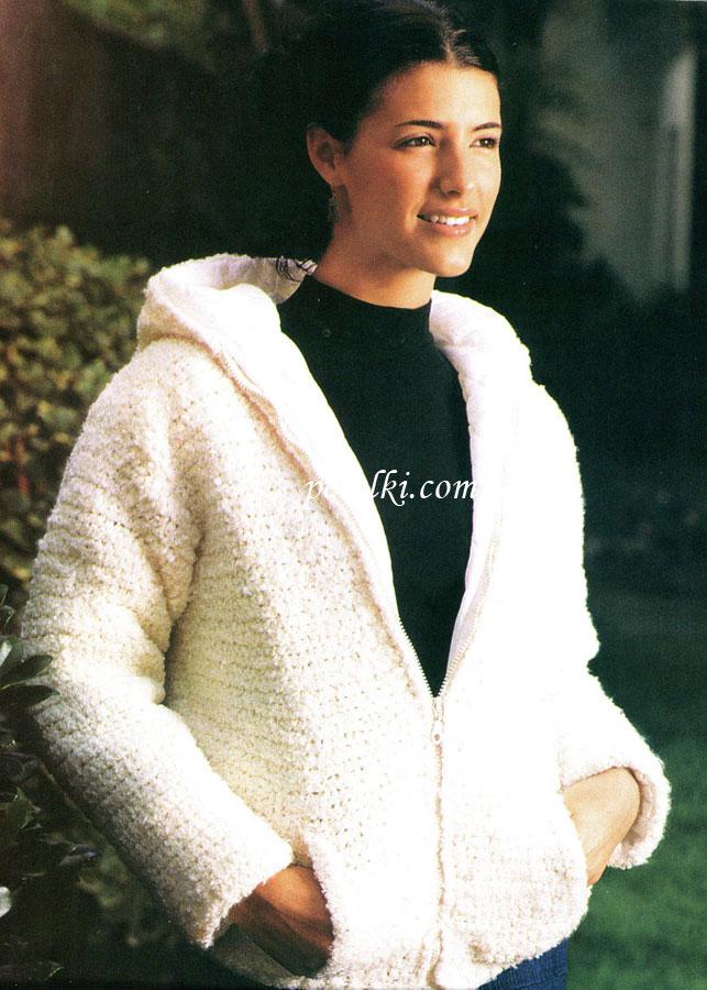 Вязание - Куртка женская на