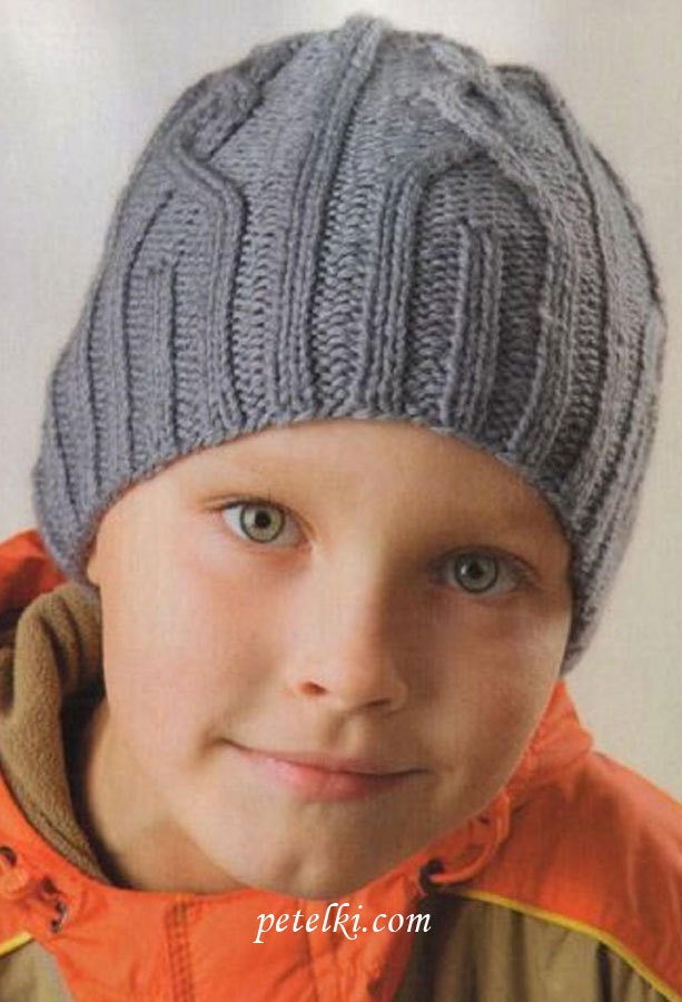 Вязание Шапочка Для Мальчика