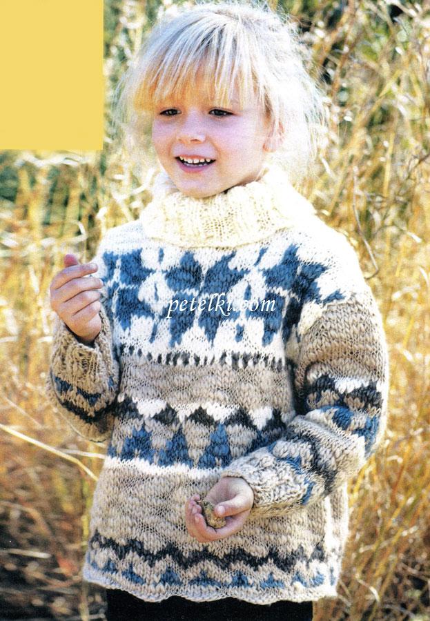 Вязание для девочек возраст 4-6 8-10 лет 209