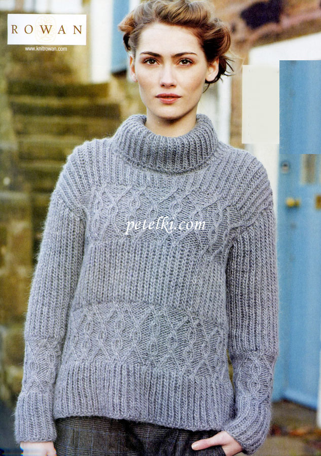 свитер английской резинкой