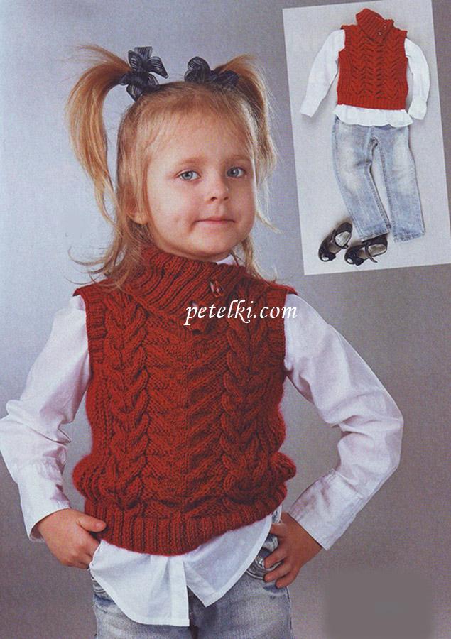 Вязание костюм на девочку 5 лет 503