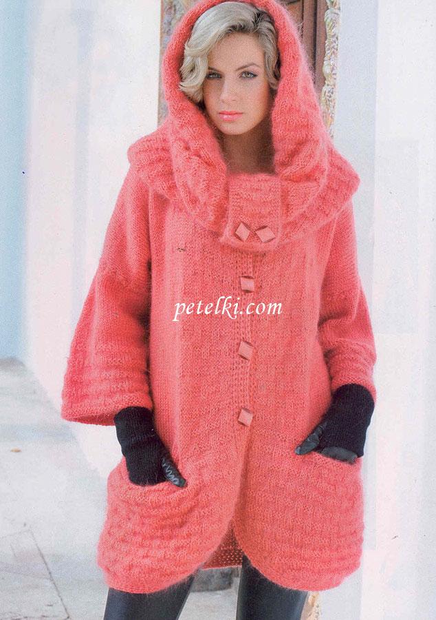 пальто снуд и шарфик петля