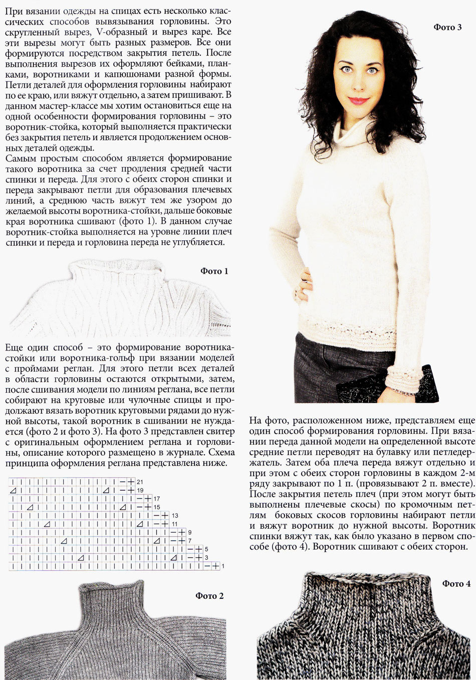Вязание реглана от горловины : расчёт. Схема вязания свитера с регланом 97