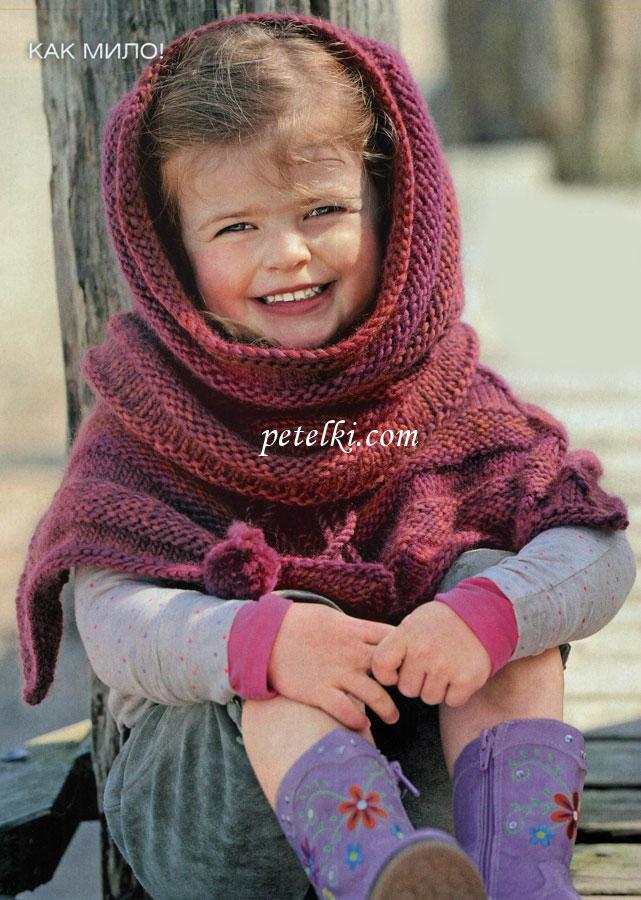 Вязание спицами для 3 лет для девочек