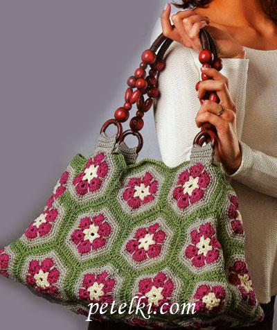 982aa0699cb5 сумка из мотивов - вязание крючком - Самое интересное в блогах