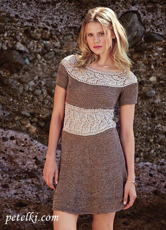 Вязание для женщин платье 26