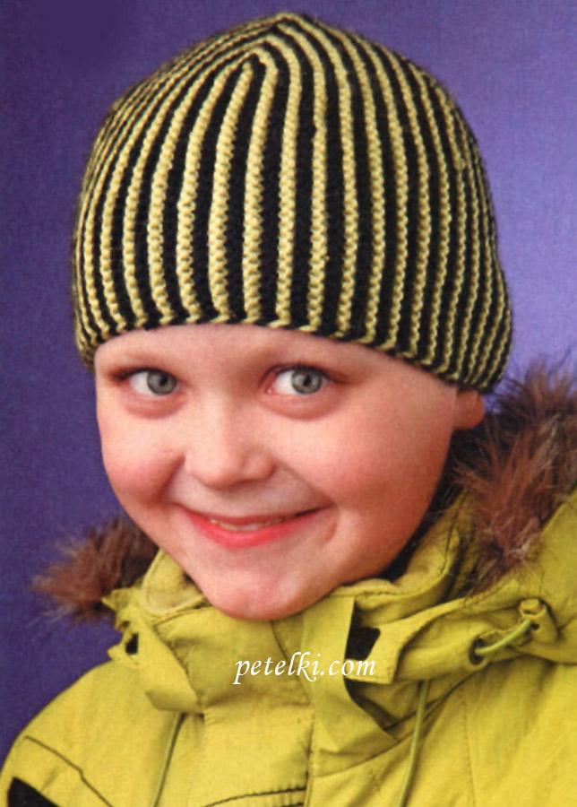 Раскраска шапка зимняя