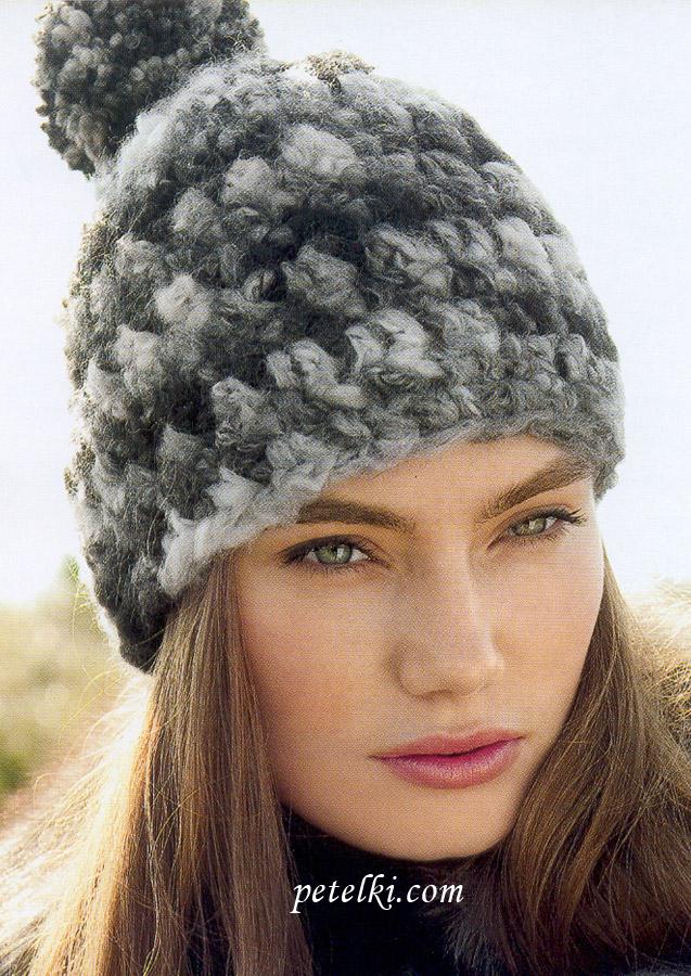 Зимние шапки 2013 - модные