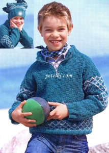 Вязание для мальчиков спицами