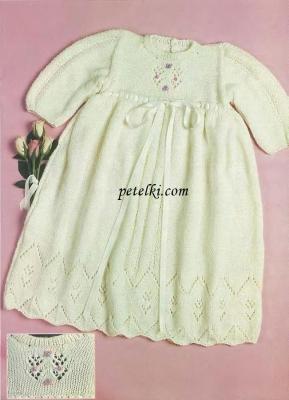 Платье на девочку возрастом 1 год