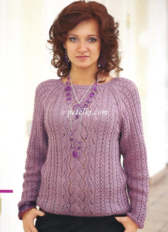 Вязание описание кофт свитеров спицами 8