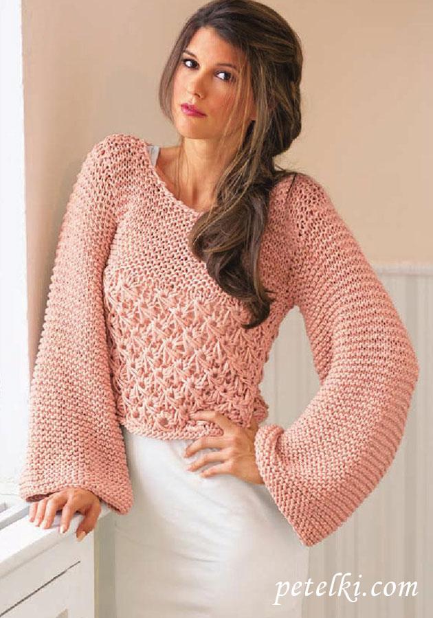 Короткий Пуловер